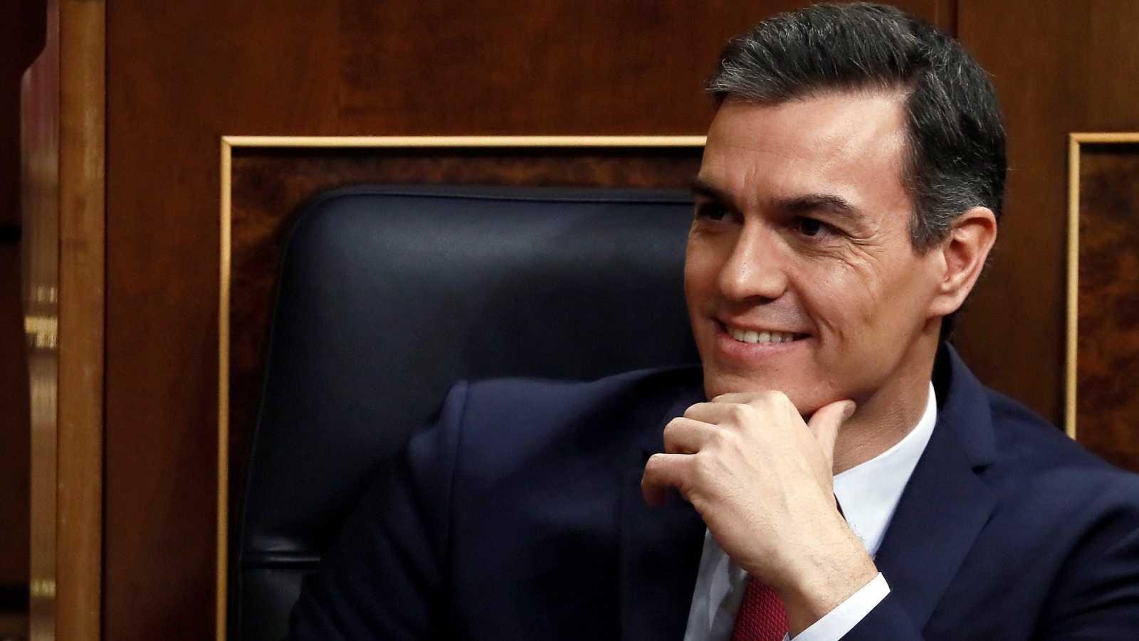 Pedro Sánchez durante un pleno en el Congreso / RTVE.es