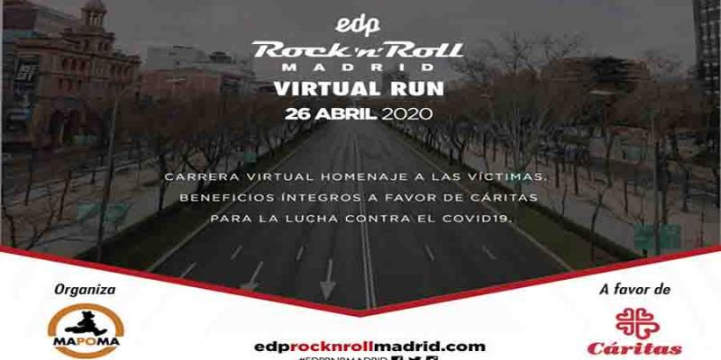 EDP Rock and Roll Madrid nos ofrece mañana otra carrera virtual