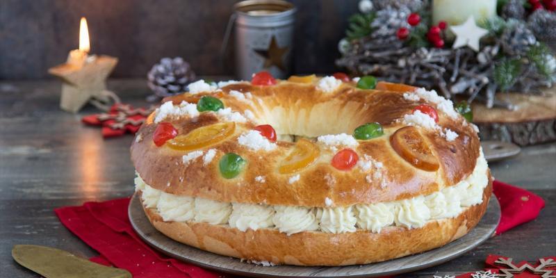 Una Bomba De Calorías Con Forma De Roscón De Reyes