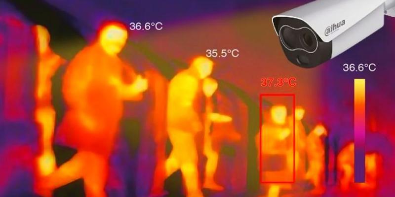 Cámaras térmicas para detectar nuevos casos de coronavirus