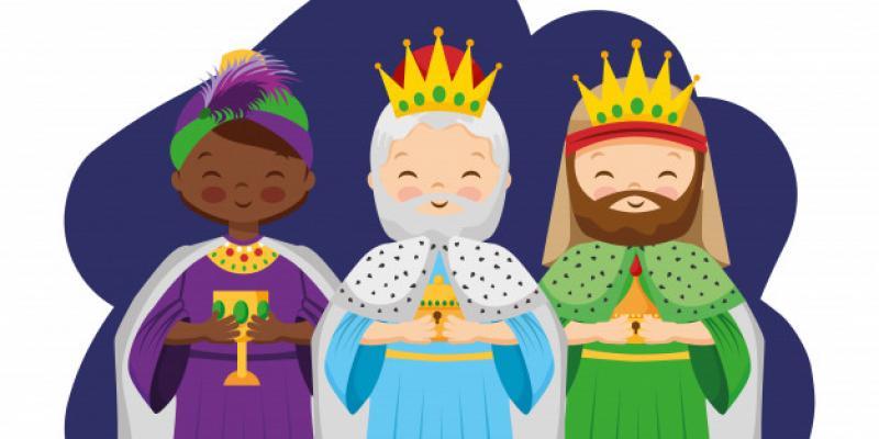 Los Reyes Magos fueron tres, reyes y magos?