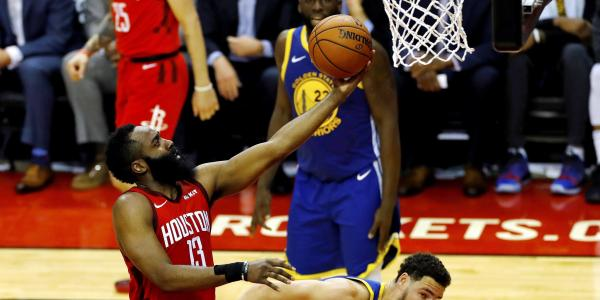 Encuentro NBA Rockets Warriors semifinales