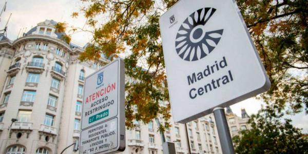 Cartel de Madrid Central