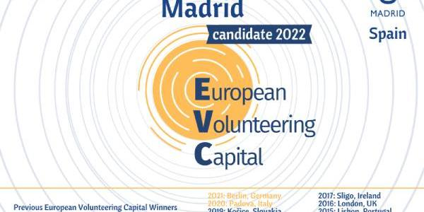 Madrid se postula a Capital Europea del Voluntariado en 2022